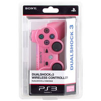 ps3 controller pink