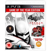 ps3 batman arkham city game year edition