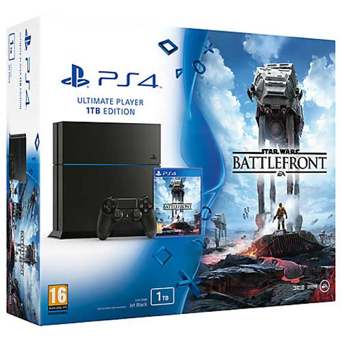 ps4 1tb game star wars box